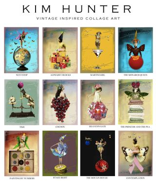Kim hunter vintage art