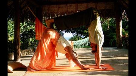Partner yoga 1