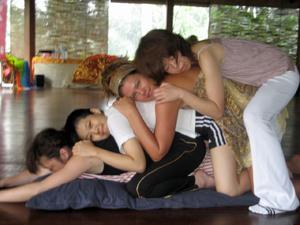 Partner yoga 2